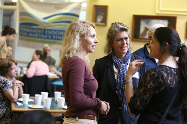 Emily Bramhall at the Scholarship Reception, 2015.