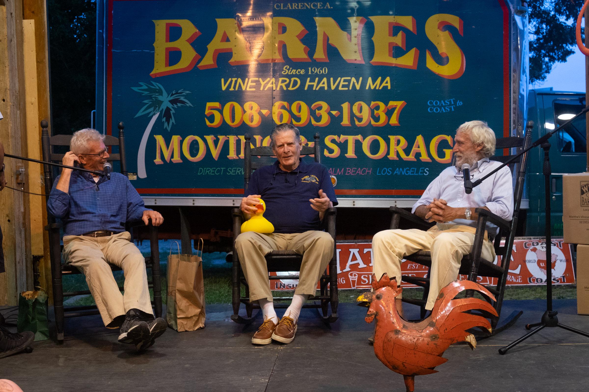 Trip Barnes Creative Living event 2018, a rollicking evening!