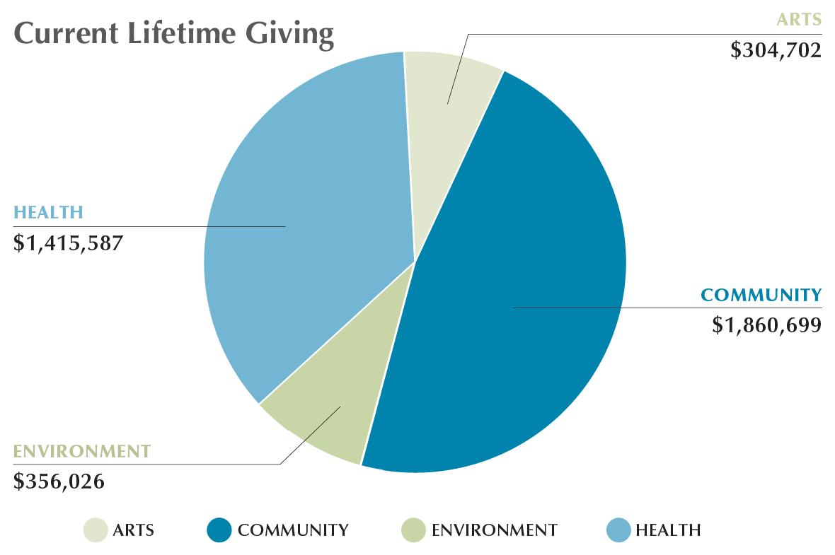 Permanent Endowment for Martha's Vineyard Current Lifetime Giving