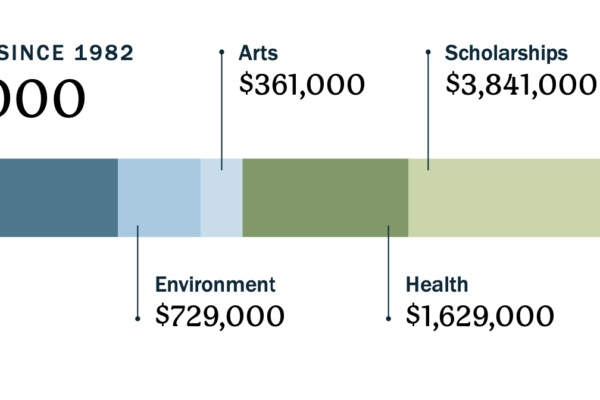 Current Lifetime Giving Graph 2020 Annual Report